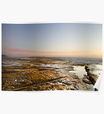 "Pastel Dawn - ""Rockshelf Terrigal"" Poster"