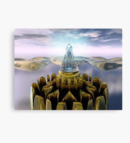 Temple Of Light Canvas Print