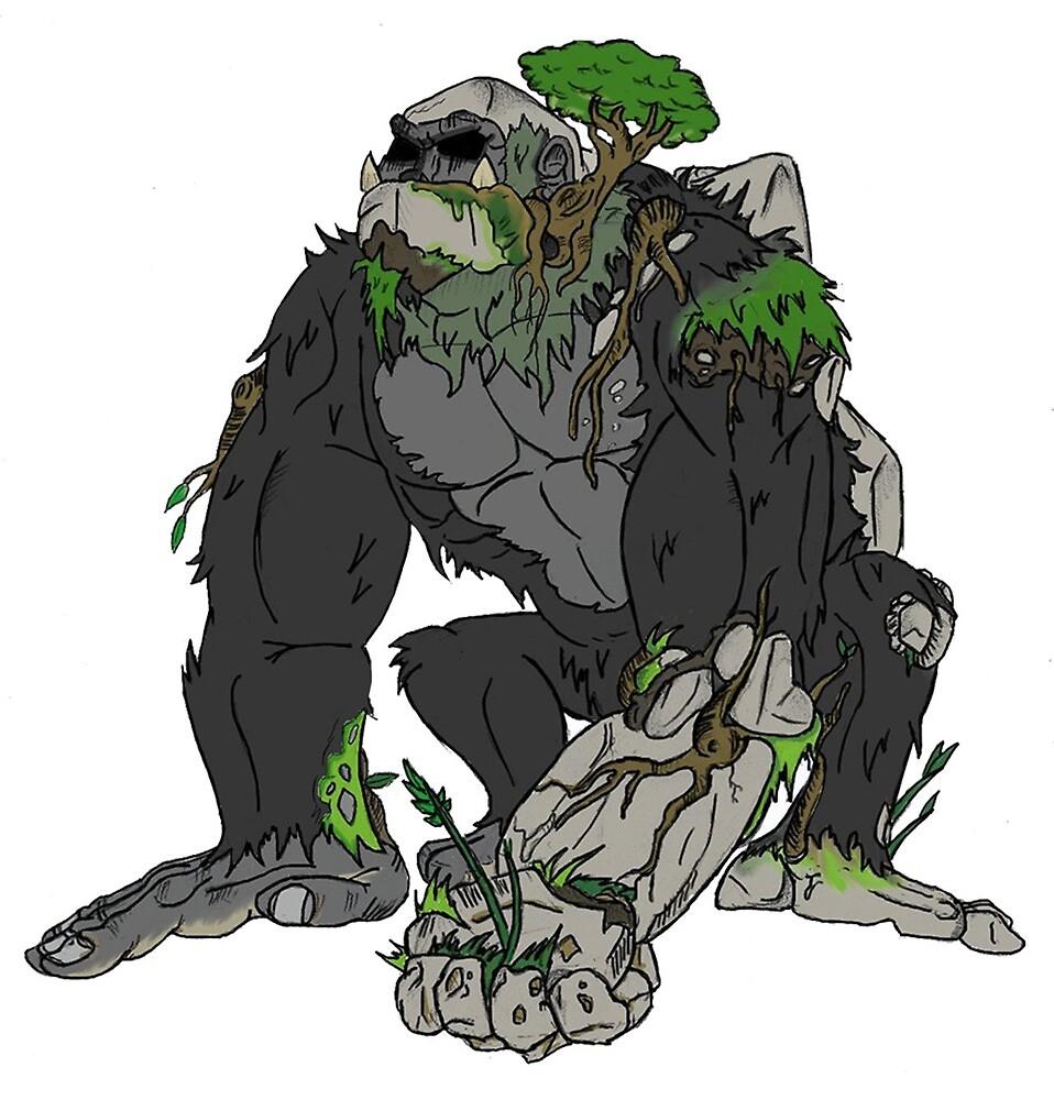 Gorilla  by RussellWillCope