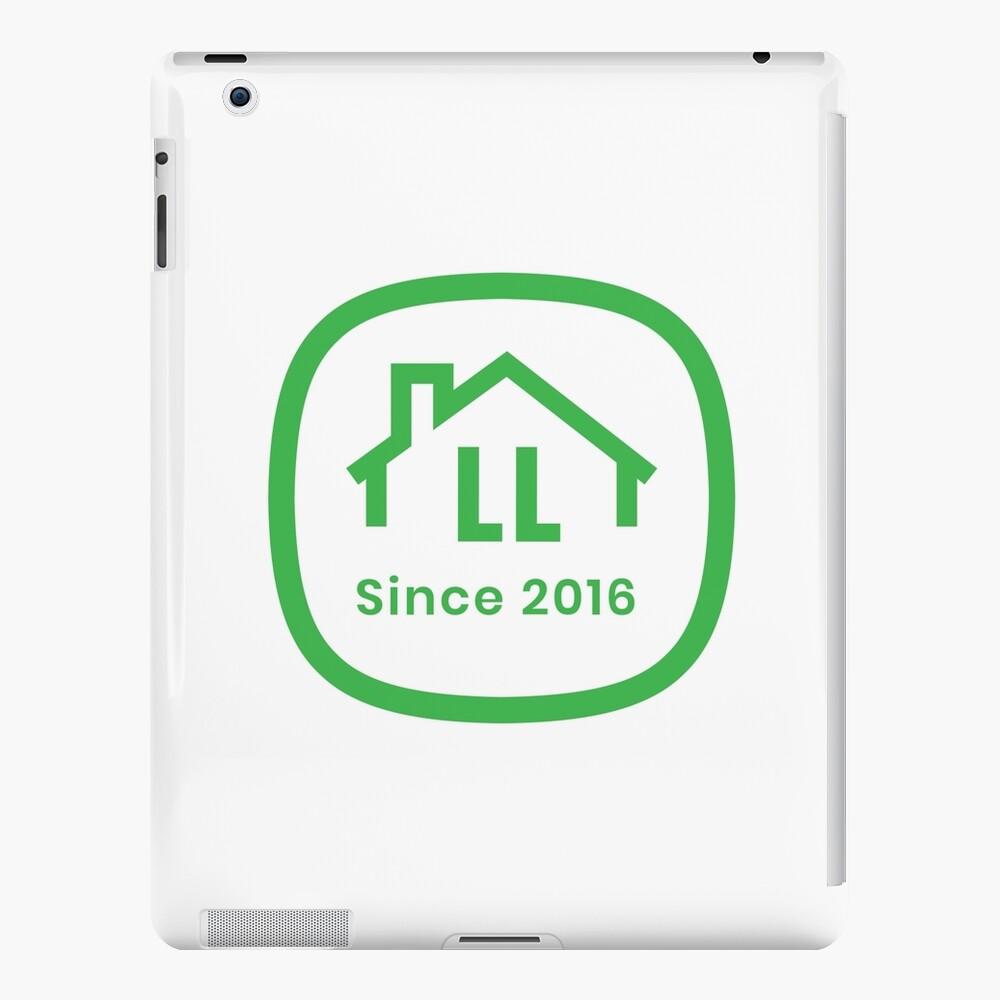 LL White Badge iPad Snap Case