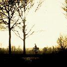 The Morning Biker by ienemien