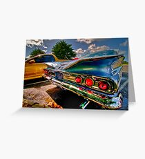 1960 Chevrolet Greeting Card