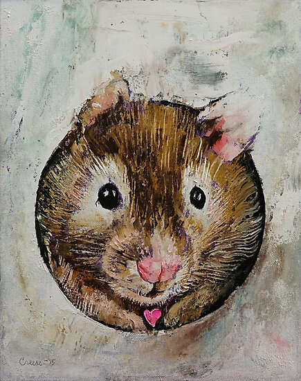 Hamster Love by Michael Creese