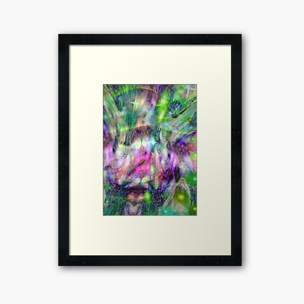Alpha Dreams Framed Art Print