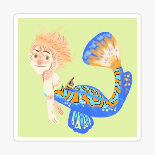 Flounder Femme Sticker