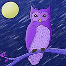 Night Owl by AriIllustrates