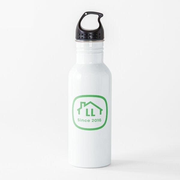 LL White Badge Water Bottle