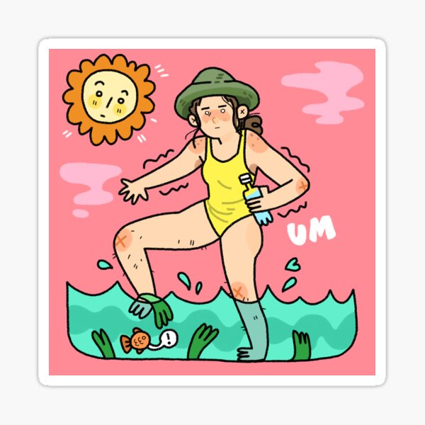 Summer Slime Sticker