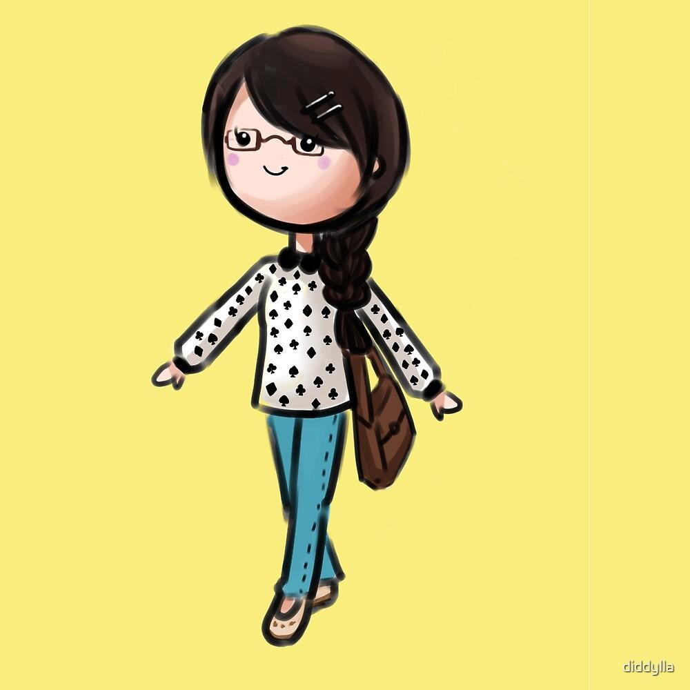 Geeky Girl by diddylla