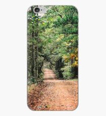 Forest Park Road in East Texas iPhone Case