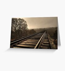 Traveling to Parts Unknown... Greeting Card