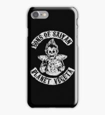 Sons of Saiyan: Planet Vegeta iPhone Case/Skin
