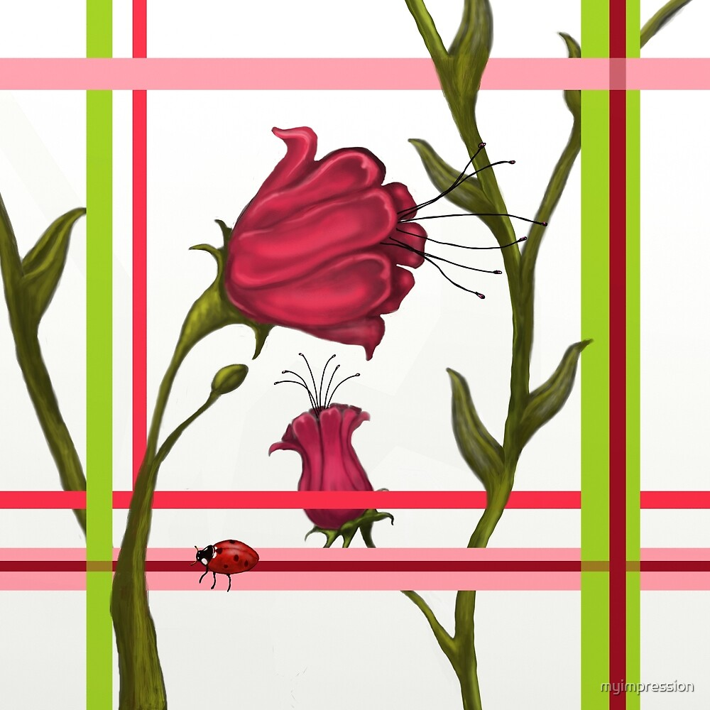 Rose Plaid  by myimpression