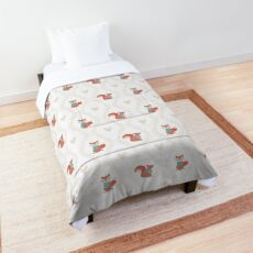 Woodland Animal Laurels Comforter
