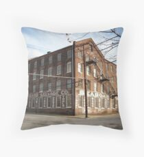 Seaboard Salvage Co. Throw Pillow