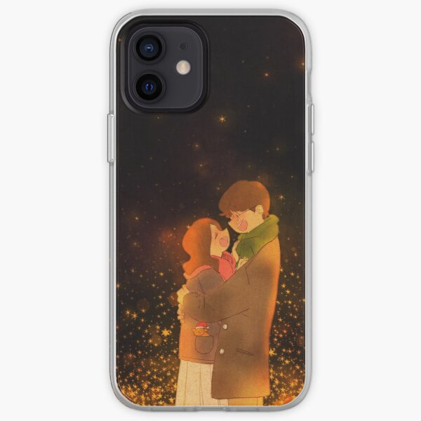 A warm winter night iPhone Soft Case