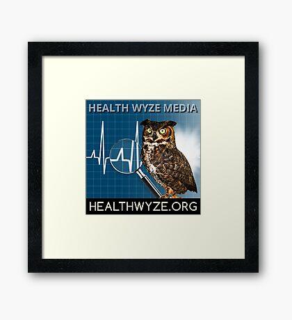 Health Wyze Media Framed Print