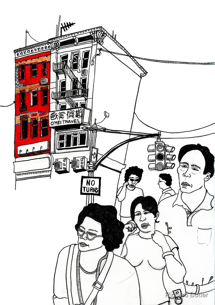Chinatown (NYC) by Richard Butler