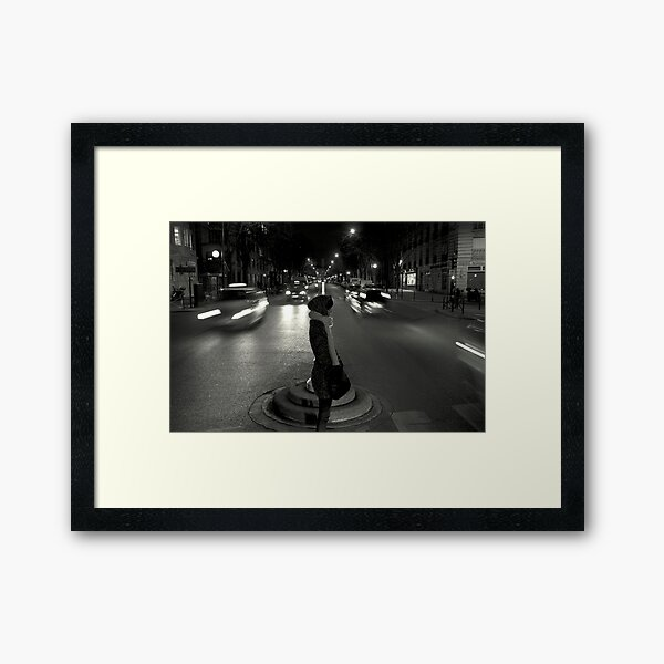 """Wait """"Good things might come for those who wait"""" Framed Art Print"""