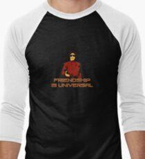 Friendship Is Universal 2 Men's Baseball ¾ T-Shirt
