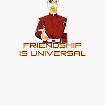 Friendship Is Universal 2 by deepspacemonkey