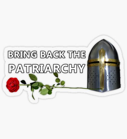 Bring Back the Patriarchy Transparent Sticker