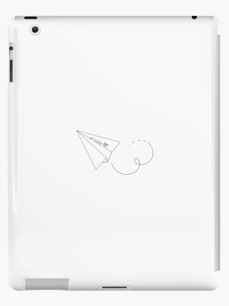 Paper Airplane Ipad Case Skin By Frickenart Redbubble