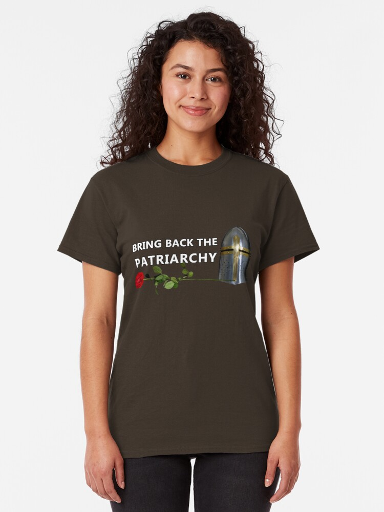 Alternate view of Bring Back the Patriarchy Classic T-Shirt