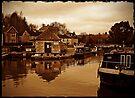 Bradford on Avon Wharf, Wiltshire, UK by David Carton