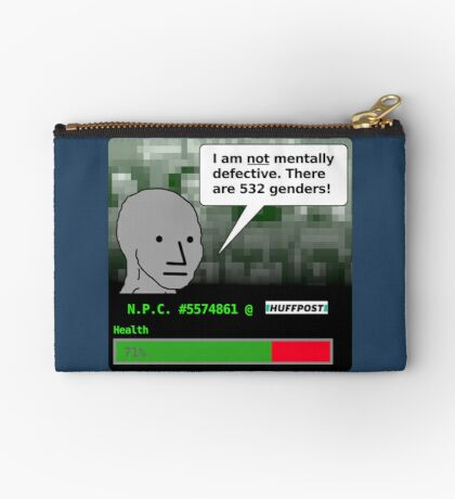 There Are 532 Genders Zipper Pouch