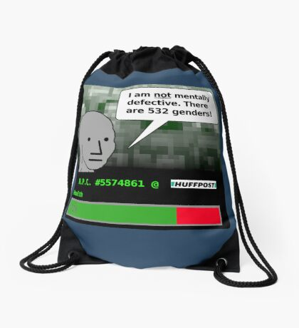 There Are 532 Genders Drawstring Bag