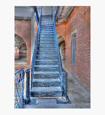 Fort Point Metal Stairs Photographic Print