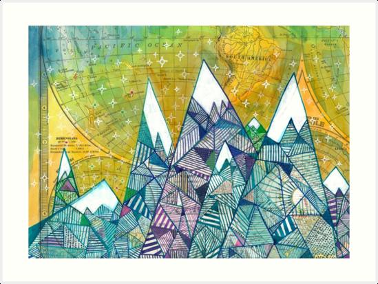 Mountainscape No. 3 by Madara Mason
