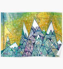Mountainscape No. 3 Poster