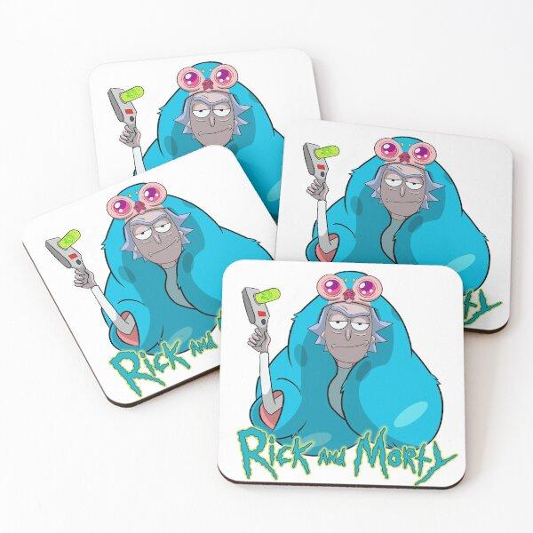 Beebo Fashion Statement - Rick & Morty Coasters (Set of 4)