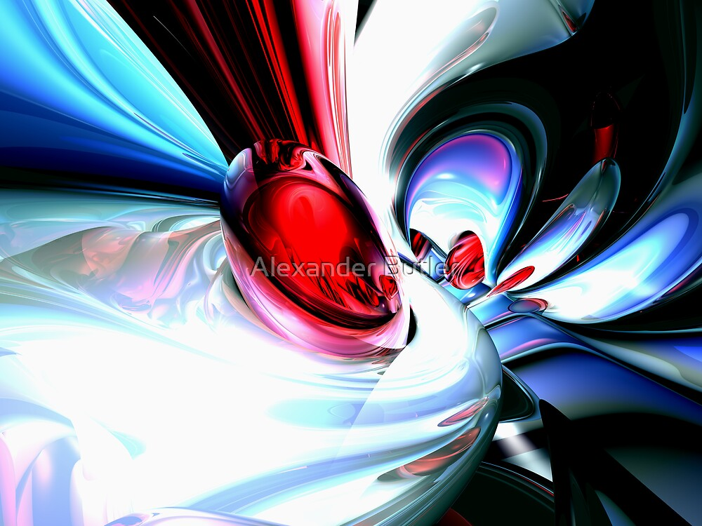 Wide Awake Abstract by Alexander Butler