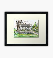Sturgis Library by H. C. Lewis Framed Print