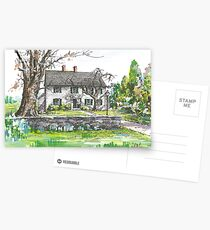 Sturgis Library by H. C. Lewis Postcards