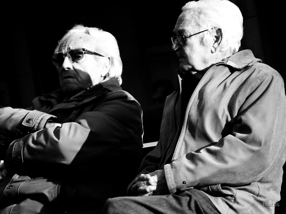 The Boys and the evening chat.. by Berns