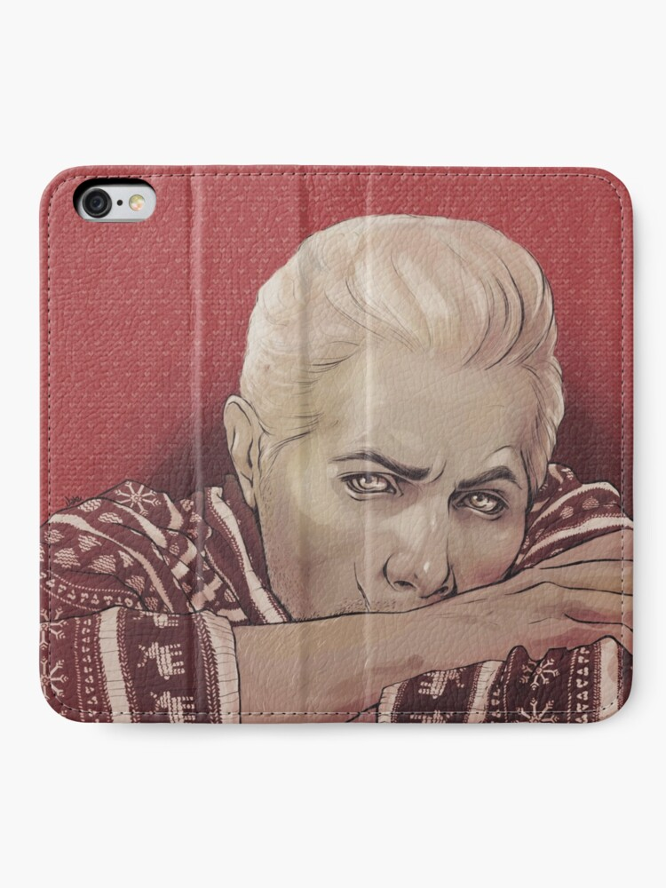 Alternate view of Xmas!Cullen iPhone Wallet