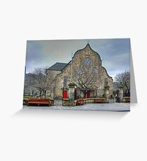 The Canongate Kirk Greeting Card