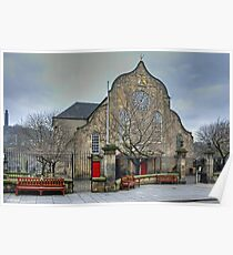 The Canongate Kirk Poster