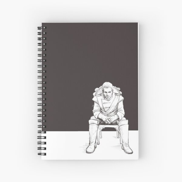 Cullen Rutherford, formal attire Spiral Notebook