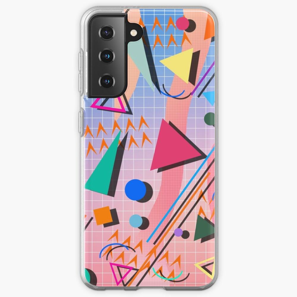 80s pop retro pattern 2 Samsung Galaxy Phone Case