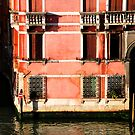 "Venetian Building bathed in the ""Good Light"" by April Anderson"