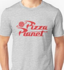 Camiseta ajustada Camisa de Pizza Planet - Toy Story, Woody, Buzz
