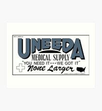 Uneeda Medical Supply Wall Art   Redbubble