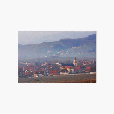 Village de Saint-Hippolyte Impression rigide