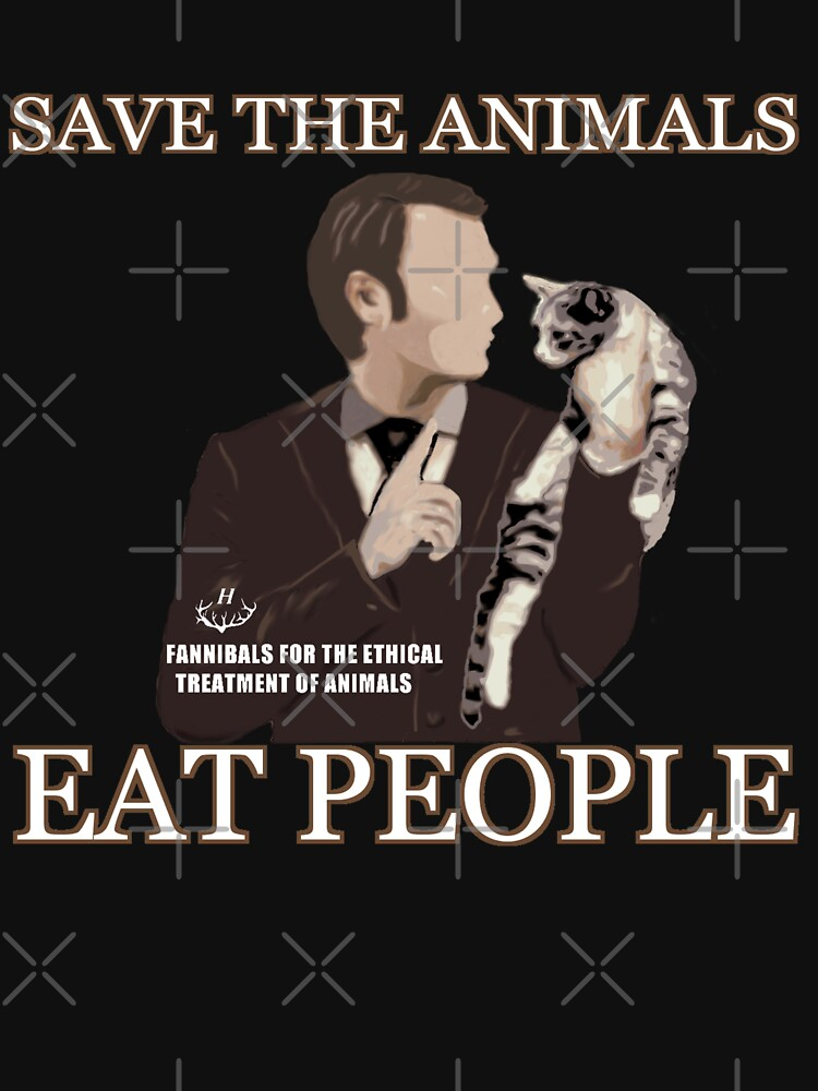 SAVE THE ANIMALS, EAT PEOPLE | Unisex T-Shirt