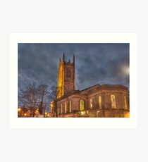 Derby Cathedral Art Print